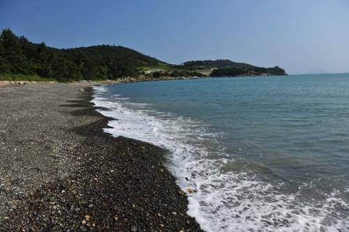 외나로도_염포해변