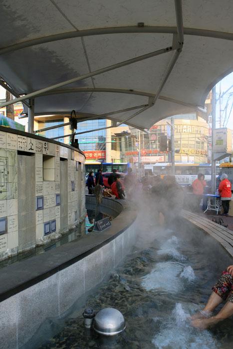겨울 추위 녹이는 두 가지 온기, 온양온천 & 온양온천시장 사진