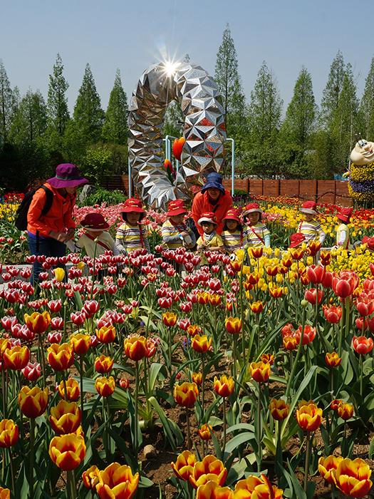 꽃길 따라 동물원으로 떠나는 봄소풍 사진