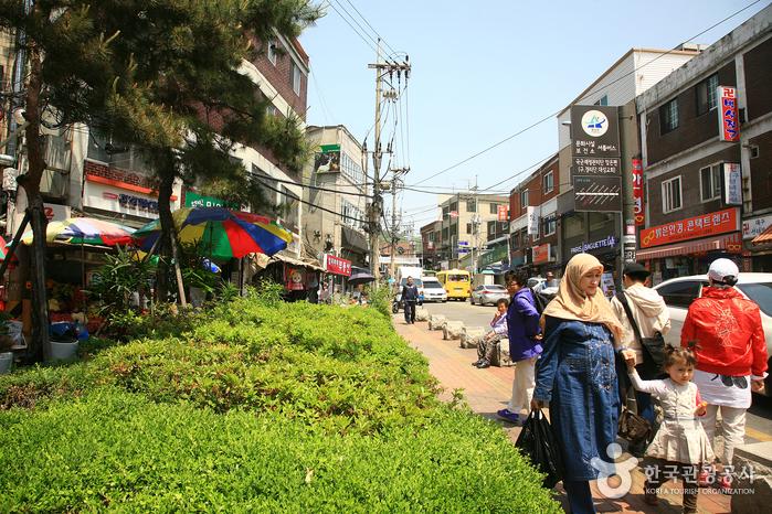 Straße Gyeongnidan-gil (경리단길)