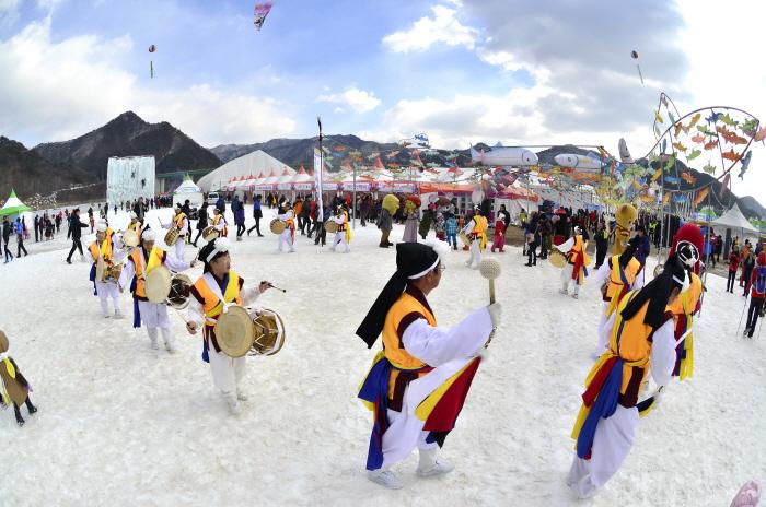 Inje Icefish Festival (인제 빙어축제)