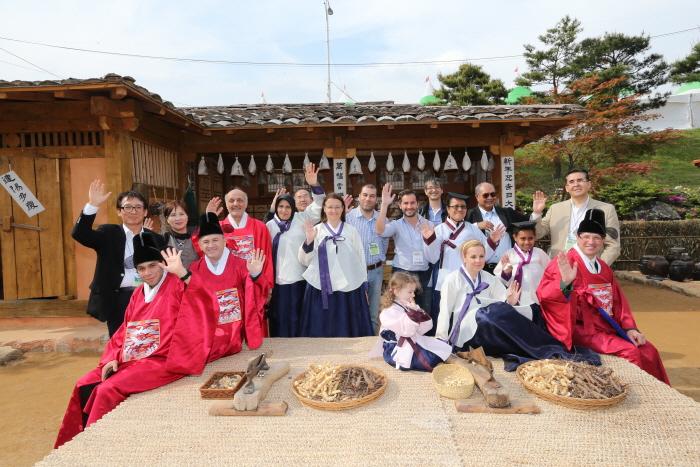 Фестиваль лекарственных трав в Санчхоне (산청한방약초축제)