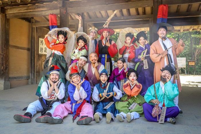 한국민속촌 웰컴투조선 2020
