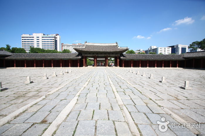 photo about Changgyeonggung Palace