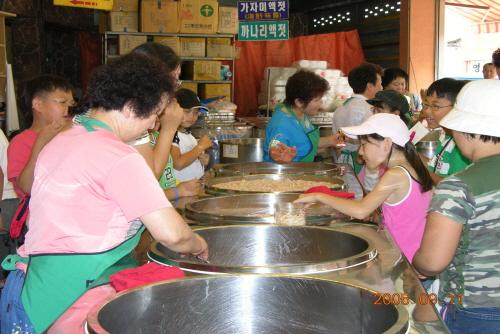 江景风味酱市场강경젓갈시장