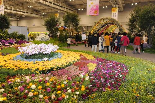 Весенняя выставка цветов в Кванчжу 2015 (광주봄꽃박람회)