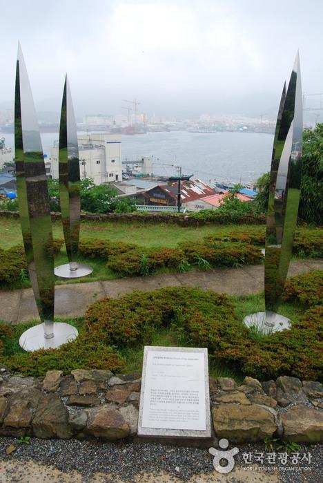 Парк скульптур Наммансан (남망산 조각공원)12