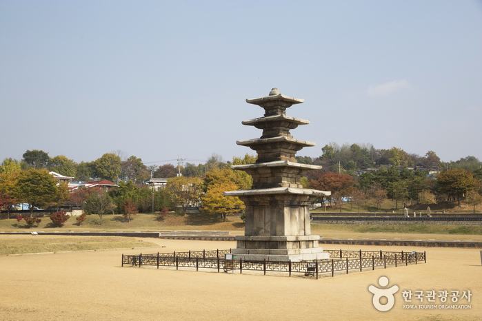 Jeongnimsaji (Jeongnimsa Temple Site) · Five-story Stone Pagoda at Jeongnimsa Temple Site, Buyeo [UNESCO World Heritage] (부여 정림사지.정림사지 오층석탑 [유네스코 세계문화유산])