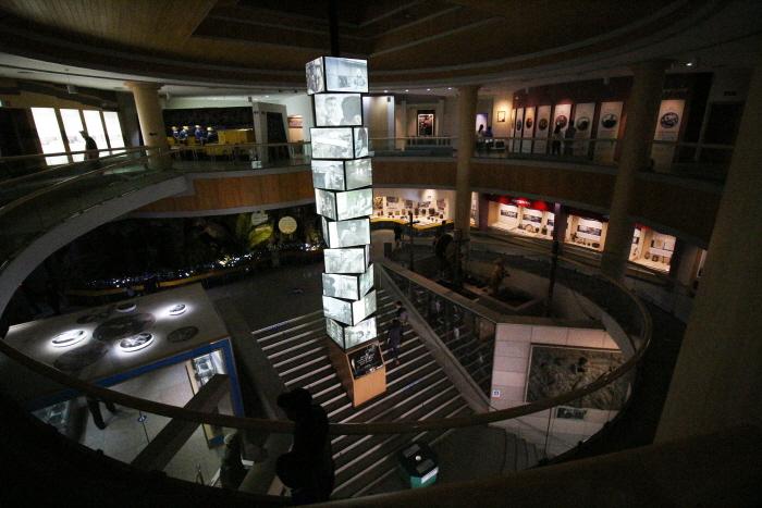문경석탄박물관 내부