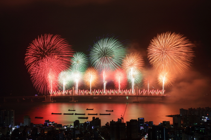 Festival international des feux d'artifice de Busan (부산 세계불꽃축제)