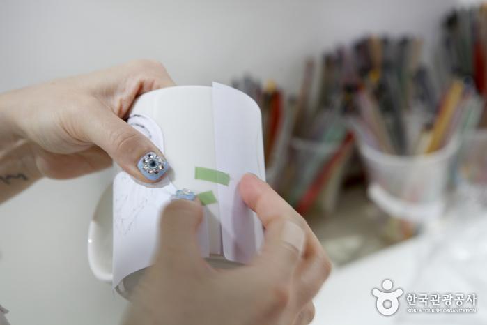 유미 머그컵 제작 과정