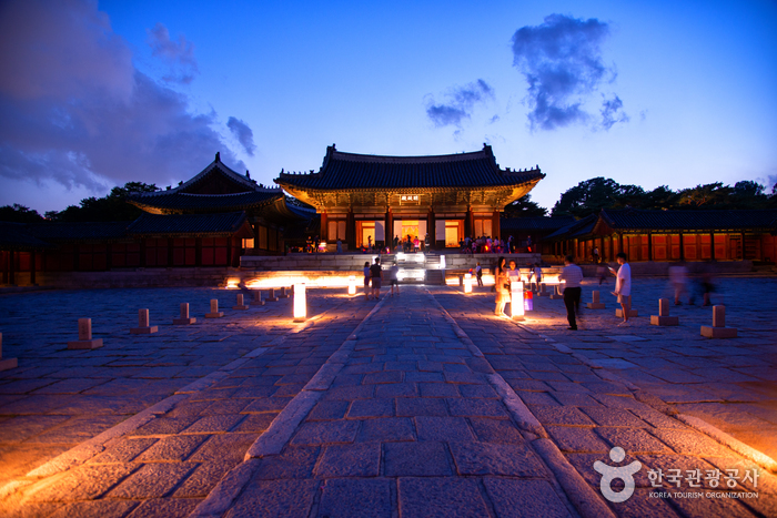昌慶宮 明政殿(창경궁 명정전)