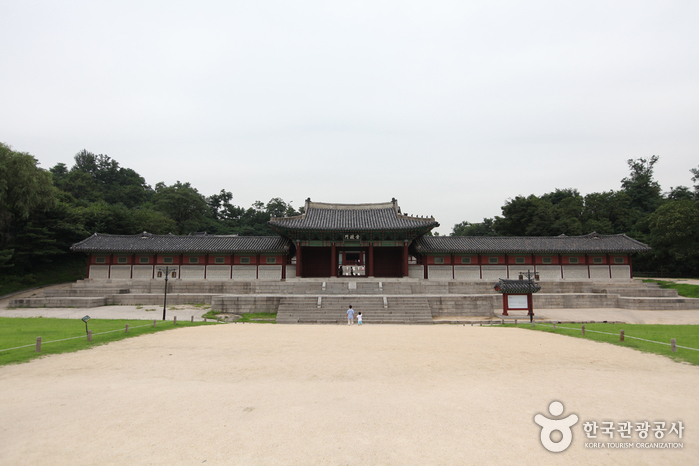 photo about Gyeonghuigung Palace