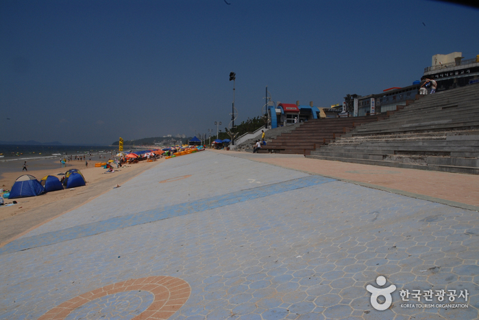 Пляж Тэчхон (대천해수욕장)8