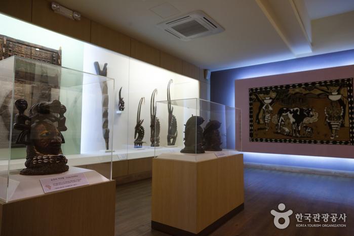 아프리카 문화를 엿볼 수 있는 아프리카 박물관
