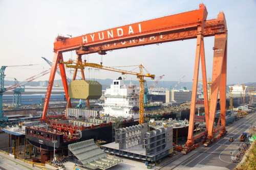 Ulsan Hyundai Heavy Industries (울산 현대중공업)