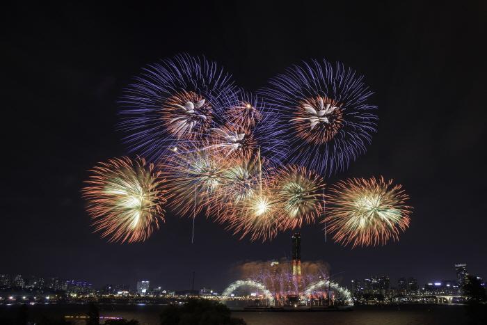 首爾世界煙火節(한화와 함께하는 서울세계불꽃축제)3