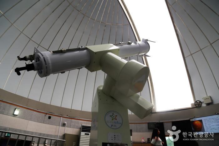좌구산천문대 굴절망원경