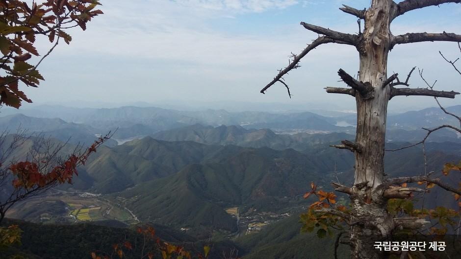 月岳山國立公園(월악산국립공원)