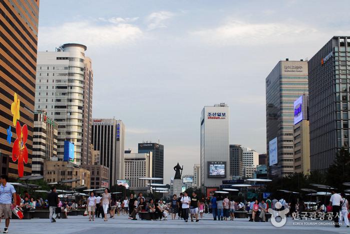 Plaza Gwanghwamun (광화문광장)20