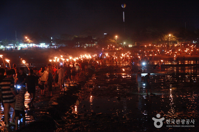 Muchangpo Mystic Sea Road Festival (무창포 신비의 바닷길축제)