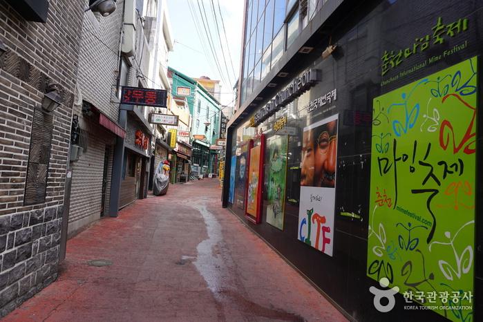 Calles de Myeong-dong de Chuncheon (춘천명동거리)2