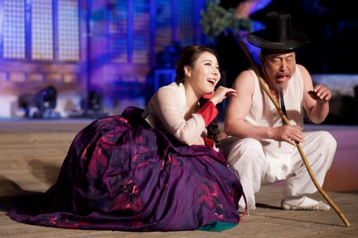 한옥자원활용 야간상설공연 전주마당창극 '천하맹인이 눈을 뜬다' 2017