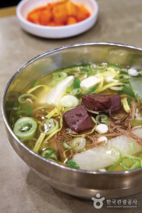 '반룡산'의 가릿국밥