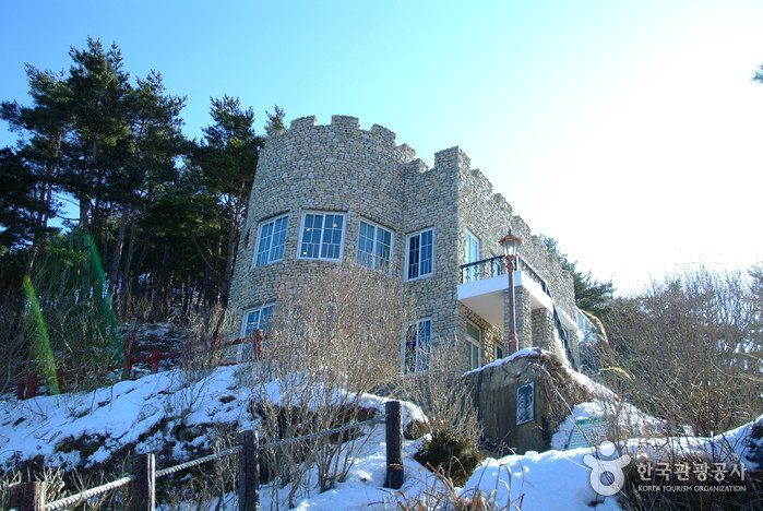 Castle at Hwajinpo (Villa of Kim Ilsung) (화진포의 성(김일성별장))
