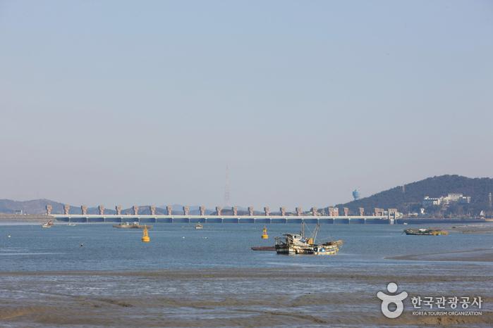 Flussmündung Geumgang (금강하구둑)