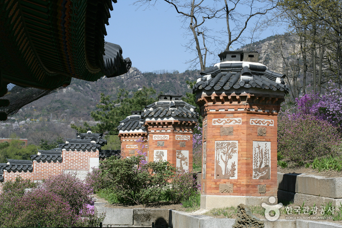 photo about Gyeongbokgung Palace
