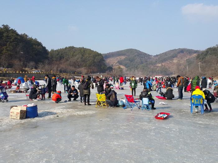 양평 대자연 빙어송어축제 2018 사진4