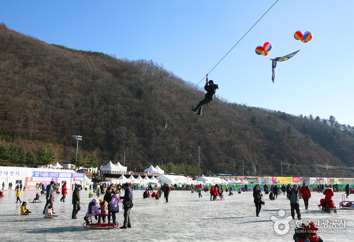 Festival del Sancheoneo de Hwacheon (얼음나라 화천산천어축제)10