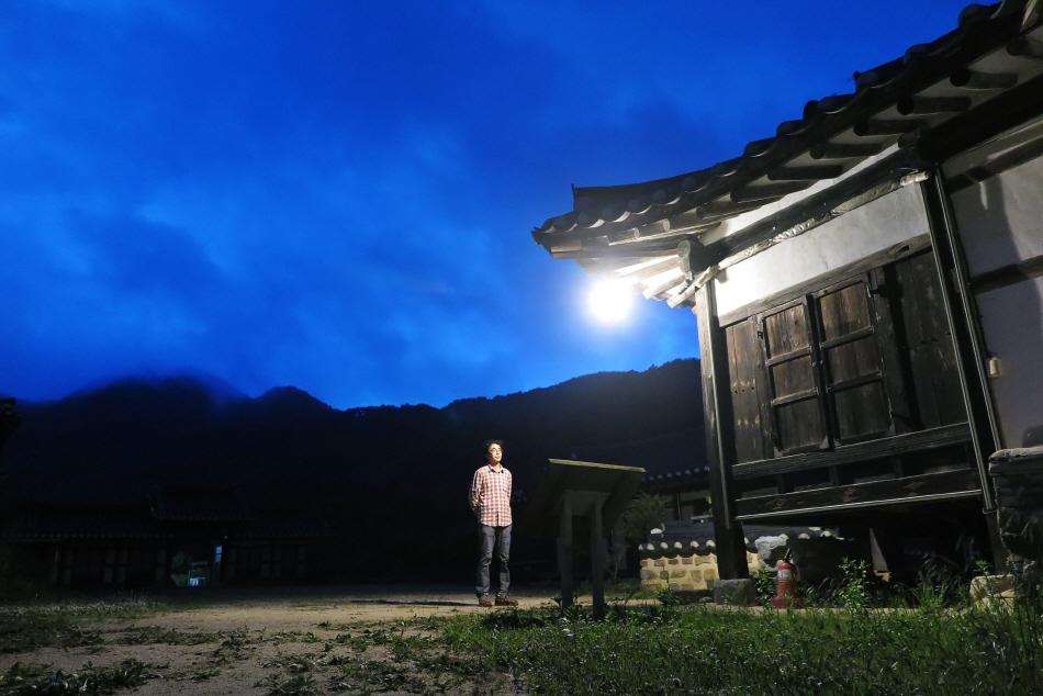 긍구당의 밤 풍경