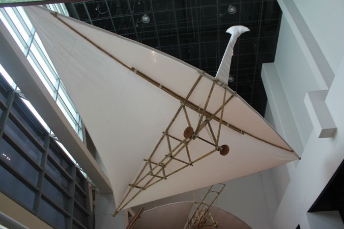 조선시대에 만들어진 비행기 비거의 모습
