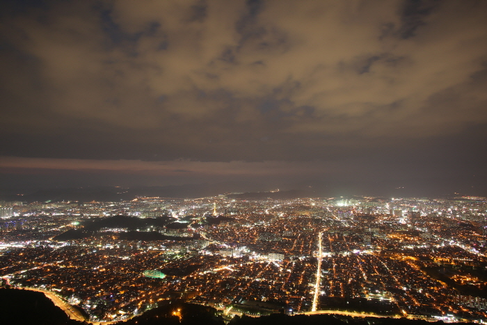 Парк Апсан в городе Тэгу (대구앞산공원)4