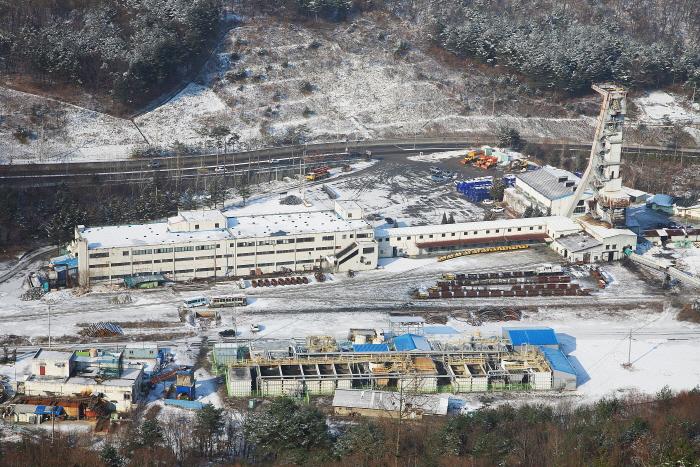 사북탄광문화관광촌의 전경