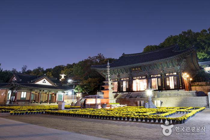 Temple Bongeunsa (봉은사)