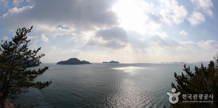 바다 가운데 파라다이스 외도 보타니아에 가다. 사진