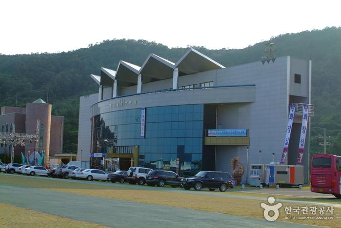 珍島海洋生態館(진도해양생태관)