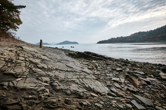 남해 가인리 화석산지