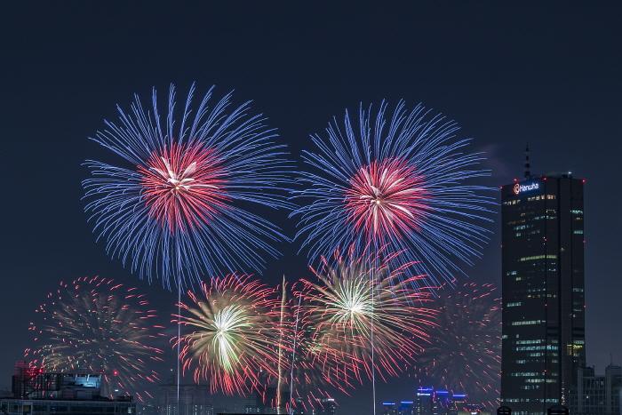 ソウル世界花火祭り(서울세계불꽃축제)