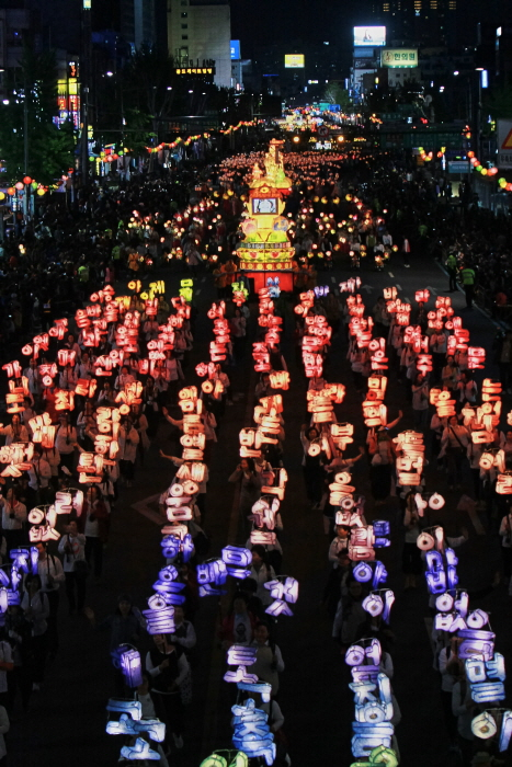 Yeon Deung Hoe (Lotuslaternenfestival) (연등회)