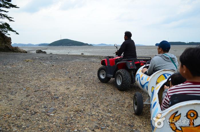 Village des pêcheurs et des activités de...