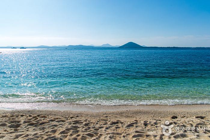 Playa Sanho (Seobin Baeksa) de Udo (우도 산호해변(서빈백사))