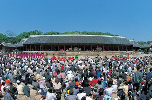 Jongmyodaeje (Royal Ancestral Memorial Rite of Joseon) (종묘대제)