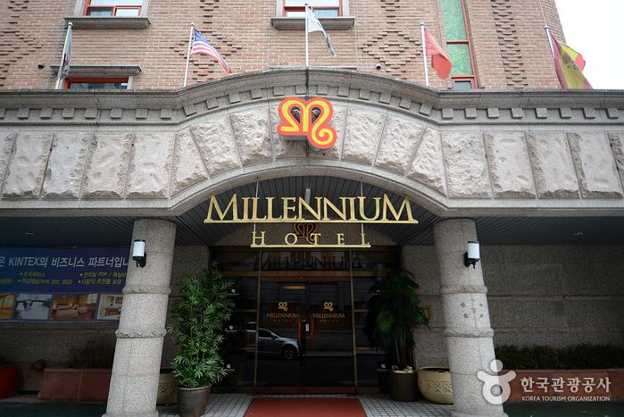 일산 시내에 있는 비즈니스 호텔