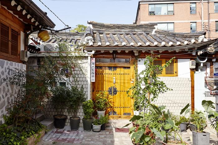 休ゲストハウス[韓国観光品質認証]<br>(휴게스트하우스 <br>[한국관광품질인증/Korea Quality])