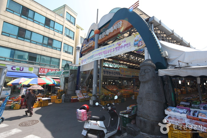 Marché Traditionnel Dongmun (동문재래시장)