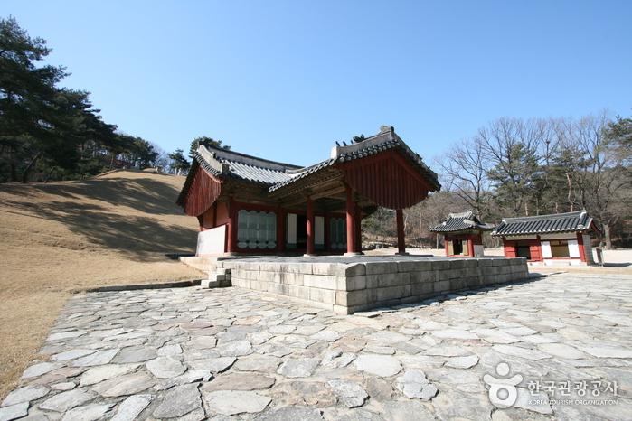 Tumba Real Jeongneung en Seúl (서울 정릉) [Patrimonio Cultural de la Humanidad designado por la Unesco]